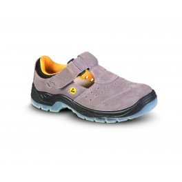 BERN ESD S1 sandál grey